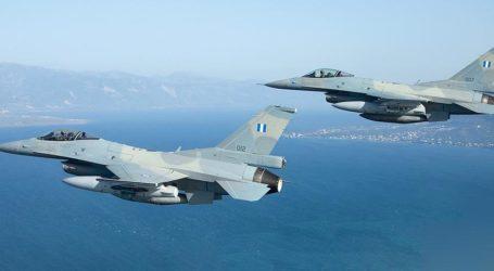 F-16 από τη Νέα Αγχίαλο αναχαιτίζουν τους Τούρκους στο Αιγαίο – 22 παραβιάσεις σήμερα