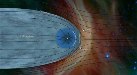 Στο μεσοαστρικό διάστημα ταξιδεύει το Voyager 2