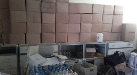 Εξαρθρώθηκε εγκληματική οργάνωση που παρασκεύαζε παράνομα αλκοολούχα ποτά