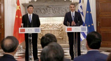 «Η Ελλάδα και η Κίνα βρίσκονται σε σημαντική φάση μεταρρύθμισης και ανάπτυξης»