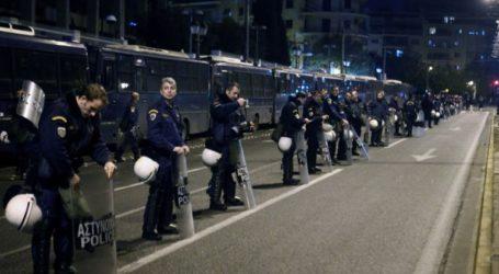 """""""Φρούριο"""" η Αθήνα για την πορεία του Πολυτεχνείου"""