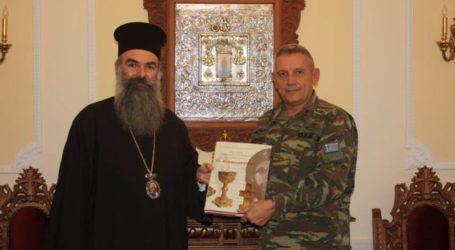 Σε καλό κλίμα η συνάντηση του Διοικητή της 1ης Στρατιάς με τον Μητροπολίτη Ελασσώνος
