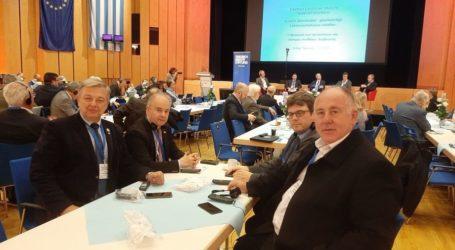 Στην 9η Ελληνογερμανική Συνέλευση στο Έρντιγκ της Βαυαρίας ο Γιώργος Μανώλης