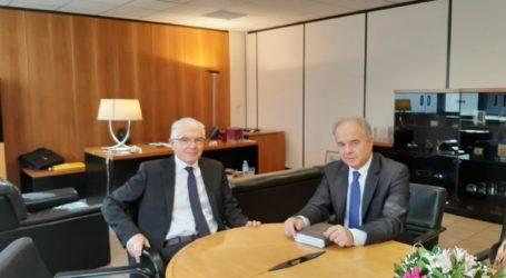 Με το νέο πρόεδρο του ΕΛΓΑ συναντήθηκε ο Γιώργος Μανώλης