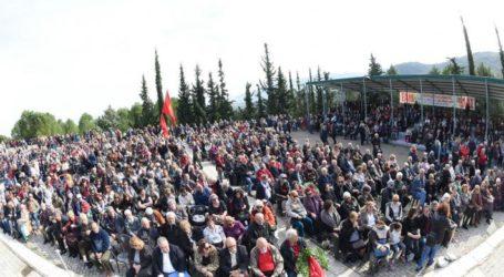 Κεντρικός ομιλητής σε εκδήλωση για την 77η επέτειο της ανατίναξης της γέφυρας του Γοργοποτάμου ο Γιώργος Λαμπρούλης