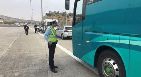 Τροχονομικοί έλεγχοι σε λεωφορεία – 329 παραβάσεις