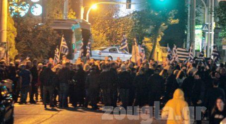 Συγκέντρωση της Χρυσής Αυγής στο Ηράκλειο για τη δολοφονία των δύο μελών της το 2013