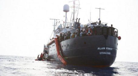 Βρέθηκε ευρωπαϊκή λύση και για το πλοίο Alan Kurdi που μεταφέρει μετανάστες