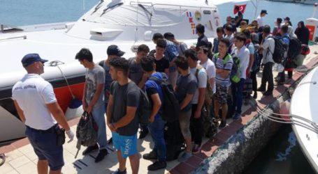Εντοπισμός αλλοδαπών και συλλήψεις των διακινητών στη Μυτιλήνη