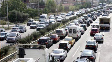 Καραμπόλα στην εθνική οδό – Ουρές χιλιομέτρων