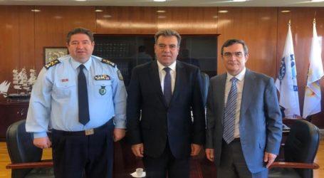 Τουρισμός και αστυνόμευση τέθηκαν επί τάπητος σε συνάντηση στο Υπουργείο Προστασίας του Πολίτη