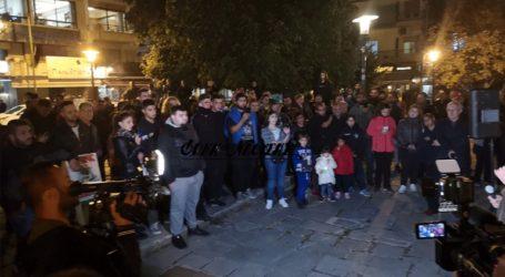 Νέα διαμαρτυρία κατοίκων της Νάουσας κατά της άφιξης προσφύγων και μεταναστών