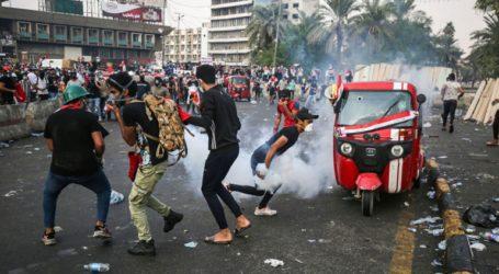 Η ιρακινή αστυνομία άνοιξε πυρ για να διαλύσει το πλήθος