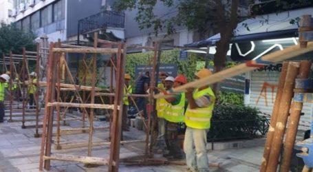 Ενημέρωση από τον Δήμο Αθηναίων σχετικά με κατάρρευση τμήματος κτηρίου στην Αιόλου