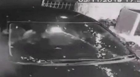 Βίντεο δείχνει τη στιγμή που πυροτέχνημα χτύπησε παράθυρο σπιτιού
