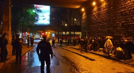Η αστυνομία του Παρισιού απομάκρυνε τουλάχιστον 1.600 μετανάστες από καταυλισμούς