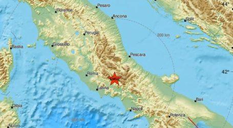 Σεισμική δόνηση 4,4R στη νότια Ιταλία