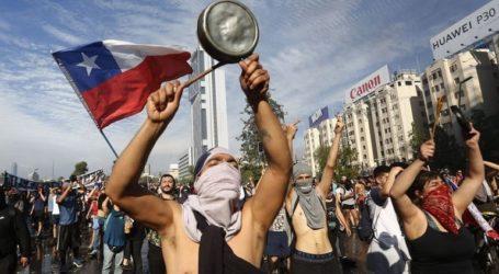 Αυστηρότερα μέτρα εναντίον των «ταραχοποιών» από την κυβέρνηση της Χιλής