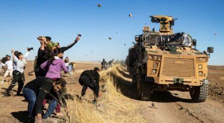 Κούρδοι πετροβόλησαν ρωσοτουρκική περίπολο μετά τον θάνατο διαδηλωτή