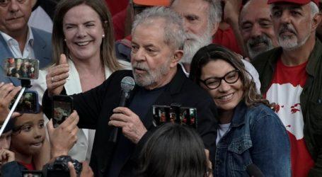 Οι επικεφαλής της Αριστεράς χαιρετίζουν την απελευθέρωση του Λούλα