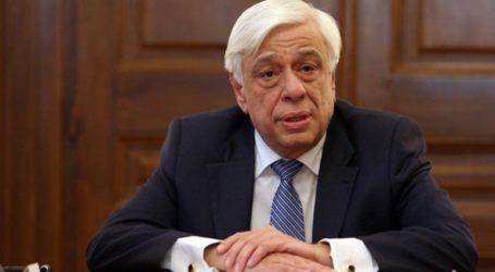Παυλόπουλος: H επίσκεψη του προέδρου της Κίνας σηματοδοτεί μια νέα περίοδο στις σχέσεις Ελλάδας