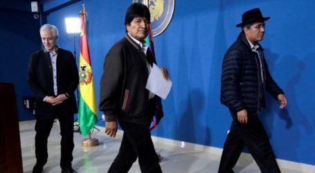 Να υπάρξει άμεση και ειρηνική επίλυση της κρίσης στη Βολιβία
