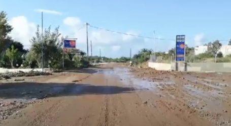 Σοβαρά προβλήματα από την κακοκαιρία σε χωριά του Ηρακλείου