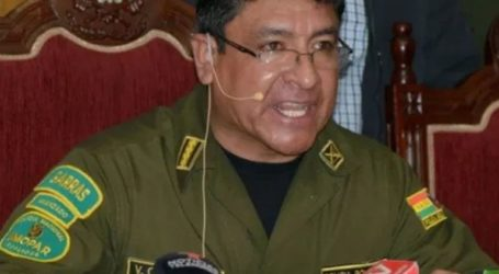 Ο επικεφαλής της αστυνομίας στη Λα Πας ζήτησε να επέμβει ο στρατός
