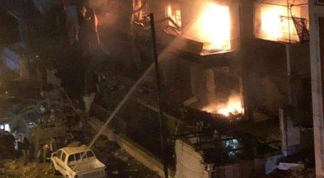 Συρία: Πλήγμα σε κτήριο κοντά στην πρεσβεία του Λιβάνου στη Δαμασκό