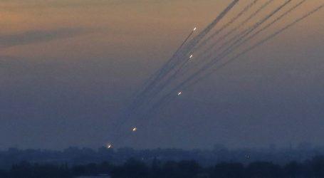 Μαζική επίθεση με πυραύλους από τη Λωρίδα της Γάζας