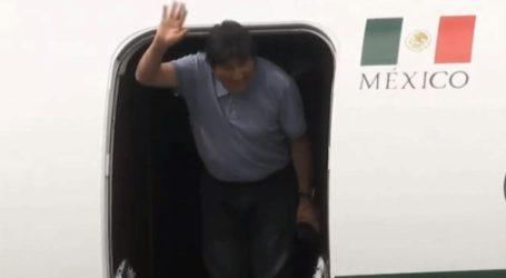 Ο Έβο Μοράλες έφτασε στο Μεξικό
