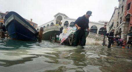 Πλημμύρισε η Βενετία εξαιτίας της κακοκαιρίας