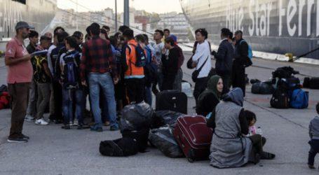 Συνεχίζονται οι αφίξεις μεταναστών στον Πειραιά από τα νησιά του ανατολικού Αιγαίου