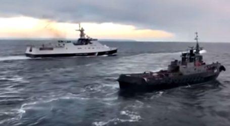 Η Ρωσία επιστρέφει τρία πολεμικά πλοία στην Ουκρανία