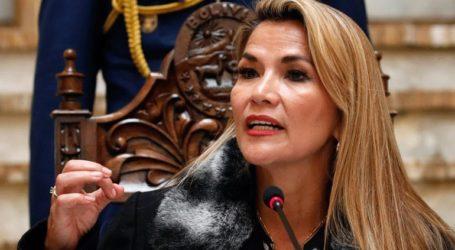 Η μεταβατική πρόεδρος Άνιες ακύρωσε ένα ταξίδι λόγω απειλών για τη ζωή της