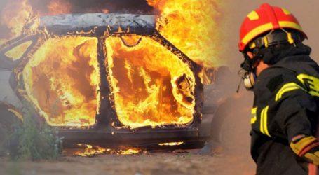 Κάηκαν τρία αυτοκίνητα σε πιλοτή πολυκατοικίας στον Ταύρο
