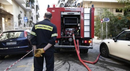 Στις φλόγες δύο διαμερίσματα στο Ηράκλειο