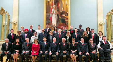 Το νέο υπουργικό συμβούλιο του Καναδά κάνει τη διαφορά