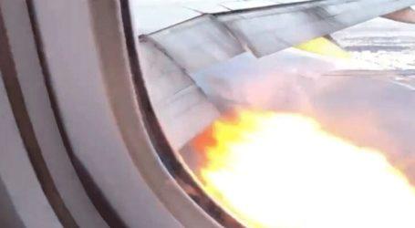 Έκτακτη προσγείωση αεροσκάφους λόγω φωτιάς στον κινητήρα