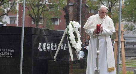 Ο πάπας Φραγκίσκος καταδίκασε την «ψευδοασφάλεια» της πυρηνικής αποτροπής στο μήνυμά του από το Ναγκασάκι