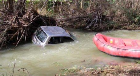 Νεκρή βρέθηκε η γυναίκα το αυτοκίνητο της οποίας παρασύρθηκε από τα νερά ποταμού