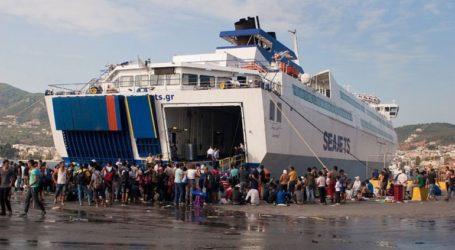 Κανονικά τα δρομολόγια των πλοίων από Ραφήνα για Μαρμάρι και Κυκλάδες