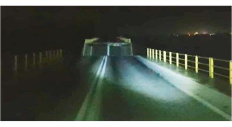 Κατέρρευσε γέφυρα στη Ρόδο λόγω κακοκαιρίας