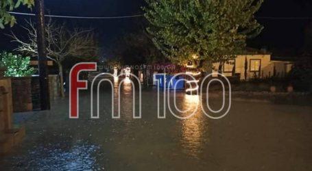 Πλημμύρισαν σπίτια στη Λήμνο