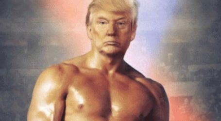 Ο Τραμπ αυτοπαρουσιάζεται ως Ρόκι Μπαλμπόα