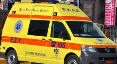 Άνδρας τραυματίστηκε από το ίδιο του το όχημα στον Βόλο