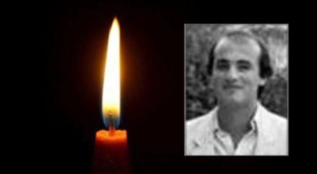 Τύρναβος: Έφυγε από τη ζωή ο 60χρονος Αντώνης Χατζηλιόντας
