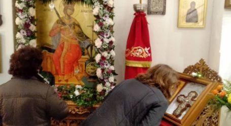 Λαμπροί εορτασμοί για την Αγία Αικατερίνη στη Λάρισα (φωτο)
