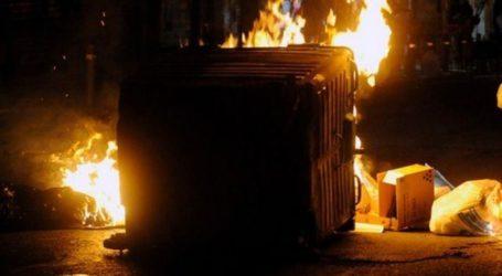 Βόλος: Μπαράζ εμπρησμών σε κάδους απορριμμάτων