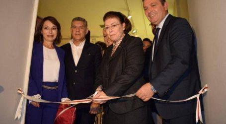Η Υπουργός Πολιτισμού εγκαινίασε την μεγάλη έκθεση ευρημάτων του «Αθανασάκειου»